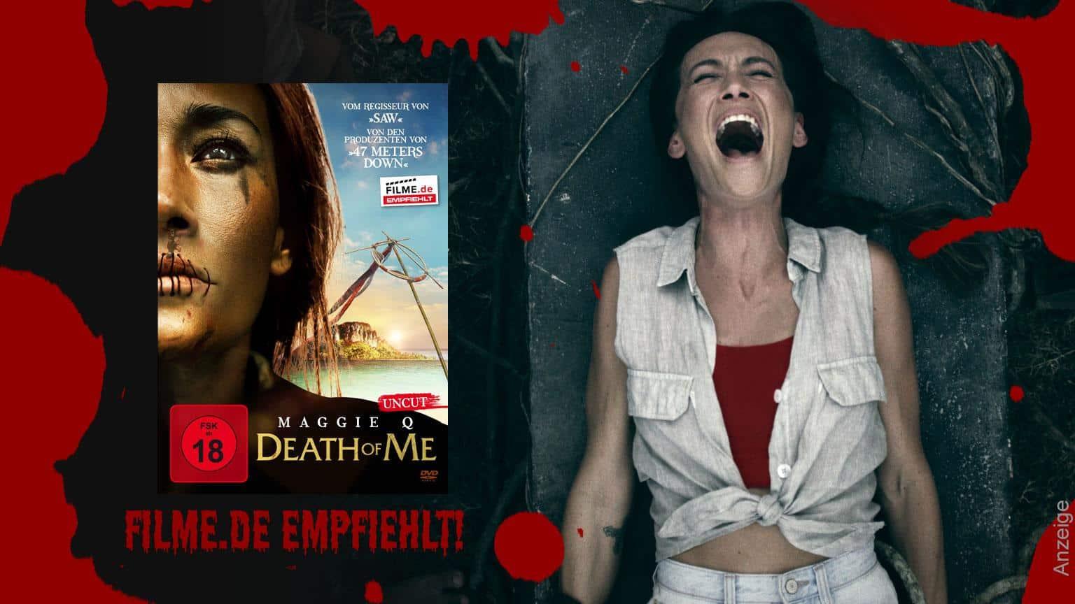 Death of me Film 2020 Horror Thriller Filme.de empfiehlt Shop kaufen Anzeige