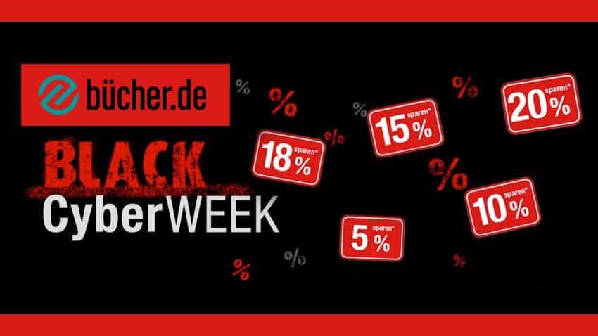 Deal Bücher.de Shop kaufen sparen Black Week Artikelbild