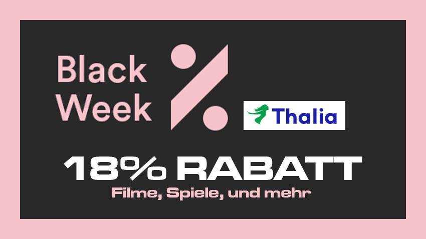 Black Week Thalia shop kaufen sparen 2020 Artikelbild