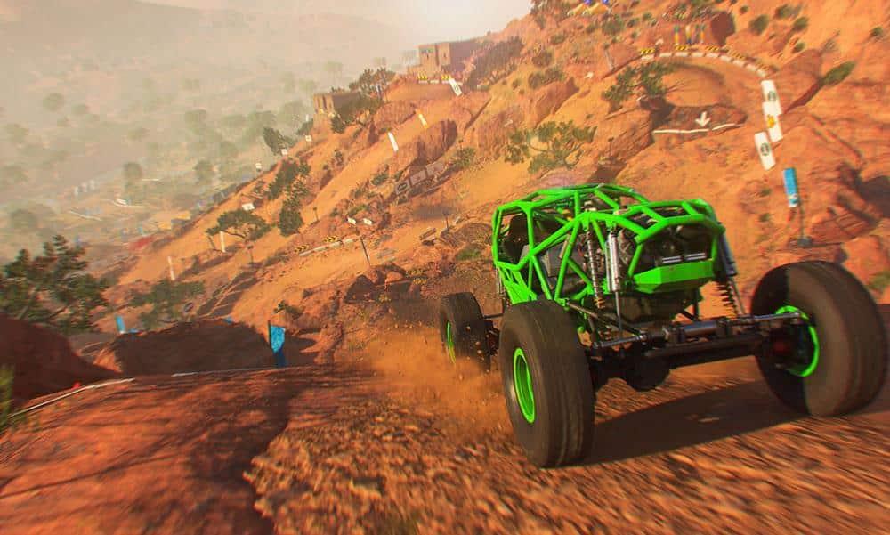 Dirt 5 Spiel PS4 Xbox Shop kaufen Review Kritik Szenenbild