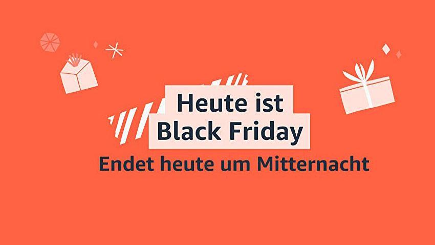 Heute ist Black Friday Deal Filme Games Spiele Technik shop kufen sparen Schnäppchen Artikelbild 2020