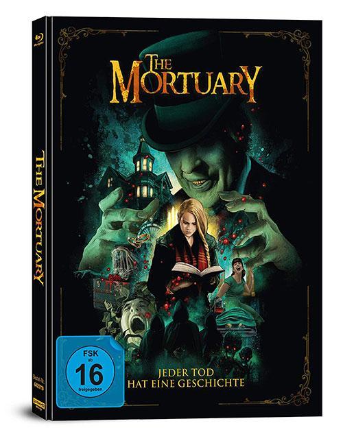 The Mortuary - Jeder Tod hat eine Geschichte - 2-Disc Limited Collector's Edition im Mediabook (4K Ultra HD) (+ Blu-Ray) Cover shop kaufen Film 2020 2021