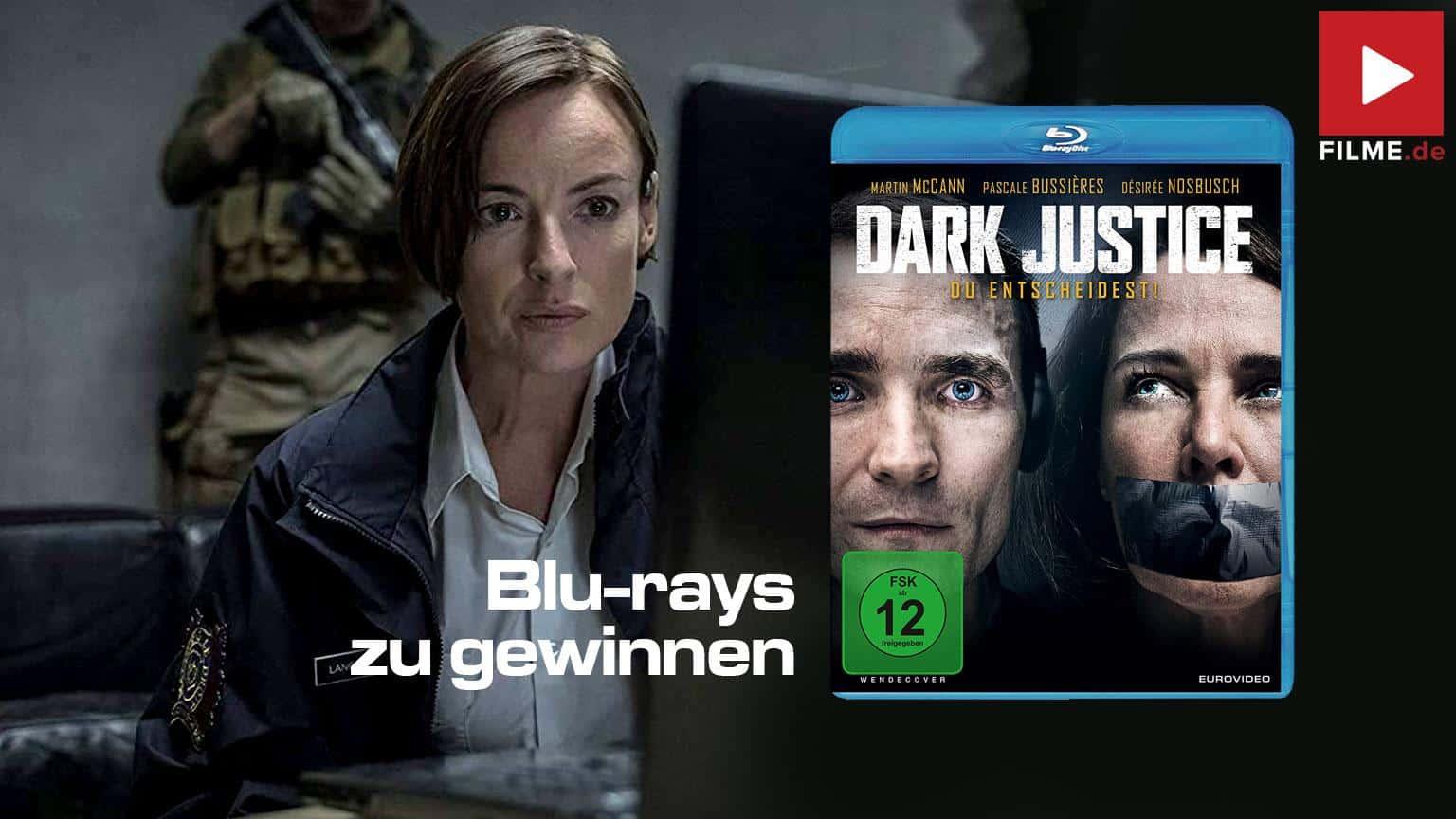 Dark Justice Du Entscheidest! Film Blu-ray DVD Gewinnspiel gewinnen shop kaufen Artikelbild