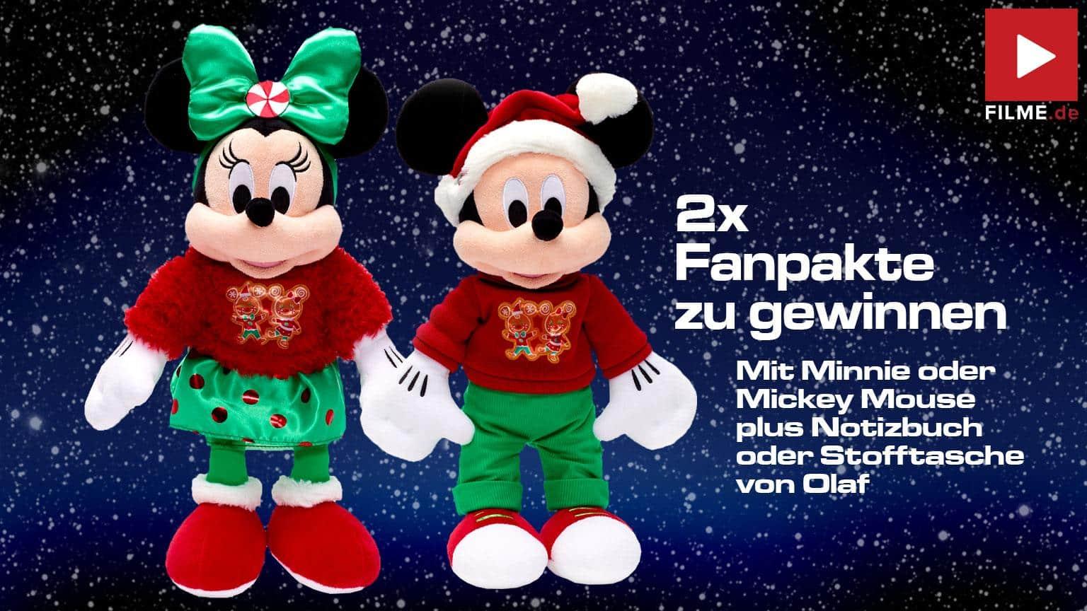 Walt Disney Weihanchts Special Gewinnspiel gewinnen fanpakete 2020 Adventskalender Disney+ Artikelbild