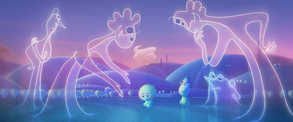 Soul Pixar Film 2020 Streaming Review Shop kaufen Szenenbild