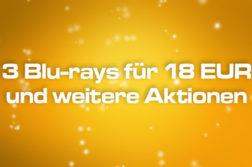 3 Blu-ray für 18 EUR Sparaktion Deal Amazon kaufen shop Artikelbild