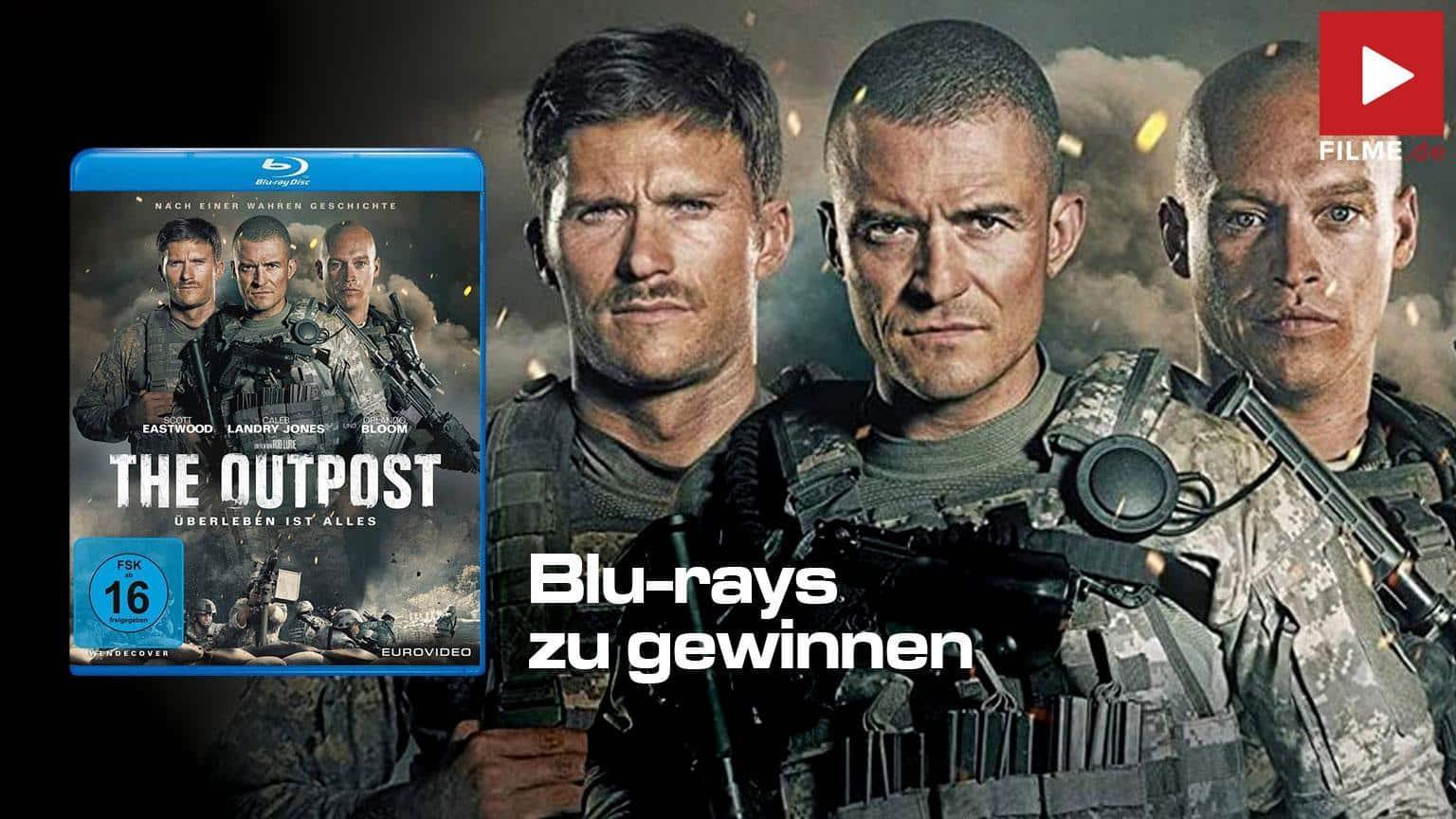 The Outpost - Überleben ist alles [Blu-ray] Gewinnspiel gewinnen Film 2021 shop kaufen Artikelbild