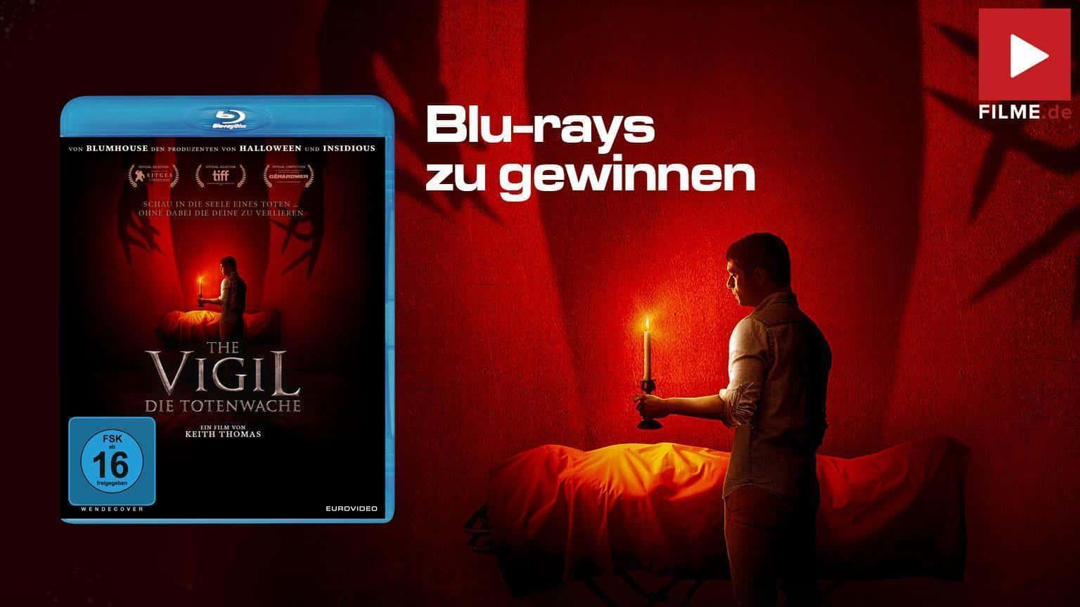 The Vigil Die Totenwache Film 2021 Blu-ray Gewinnspiel gewinnen shop kaufen Artikelbild