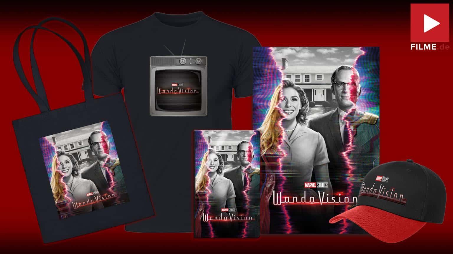Marvel VandaVision Streaming Gewinnspiel Disney+ Plus shop kostenlos sehen Artikelbild Gewinnspiel gewinnen