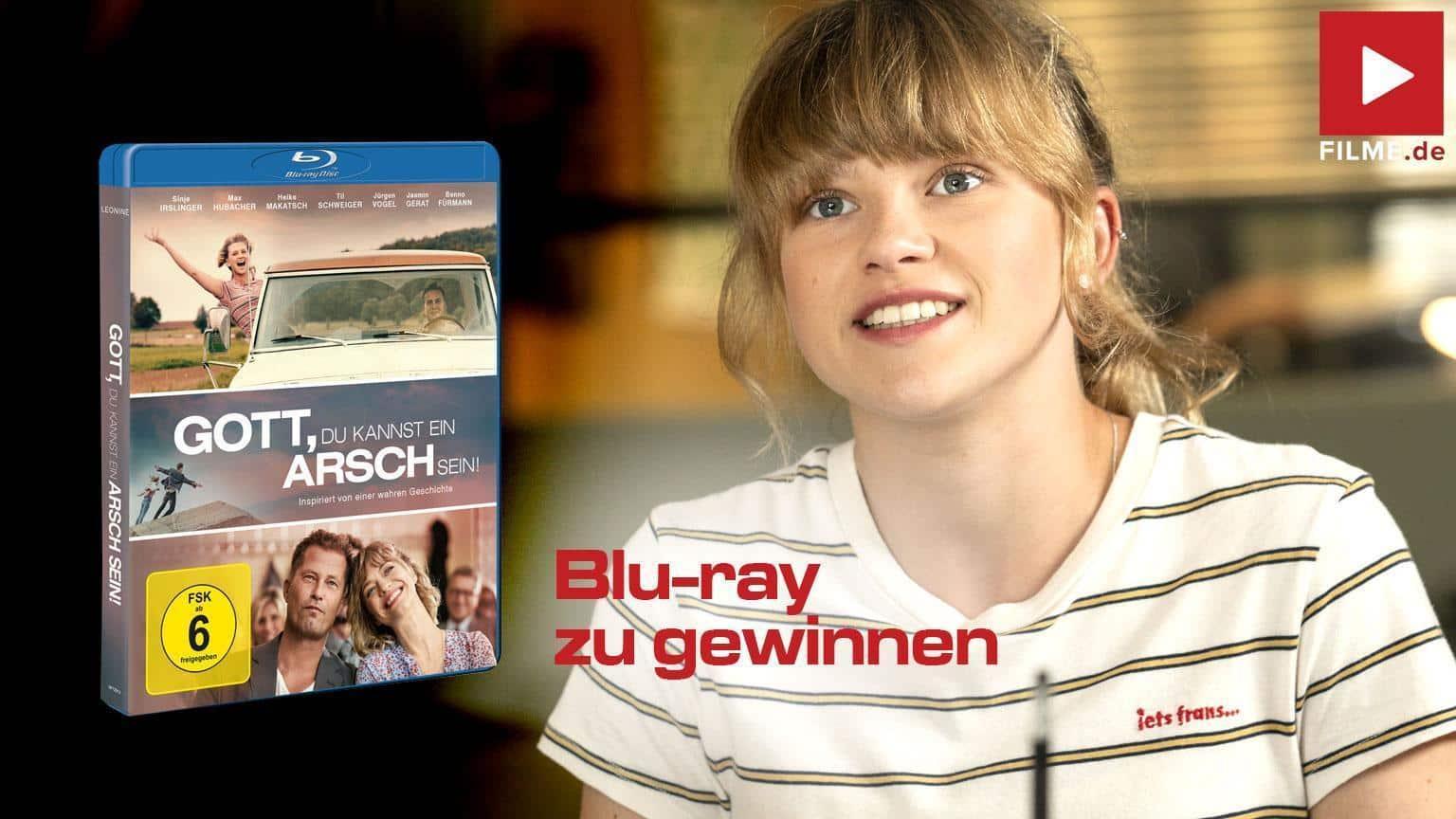 Gott du kannst ein Arsch sein Blu-ray DVD Gewinnspiel gewinnen shop kaufen Artikelbild