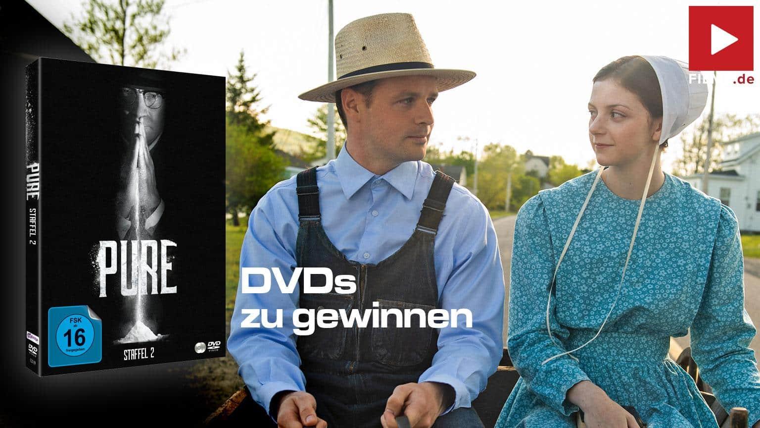 Pure - Gut gegen Böse - Die Komplette Staffel 2 [Blu-ray] Gewinnspiel DVD gewinnen shop kaufen Artikelbild