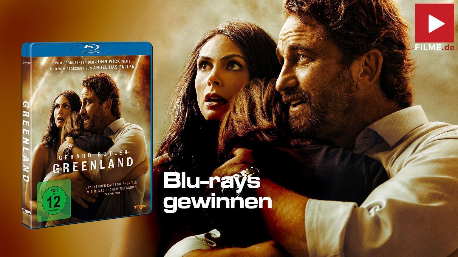 Greenland Film 2021 Blu-ray DVD Gewinnspiel gewinnen Artikelbild