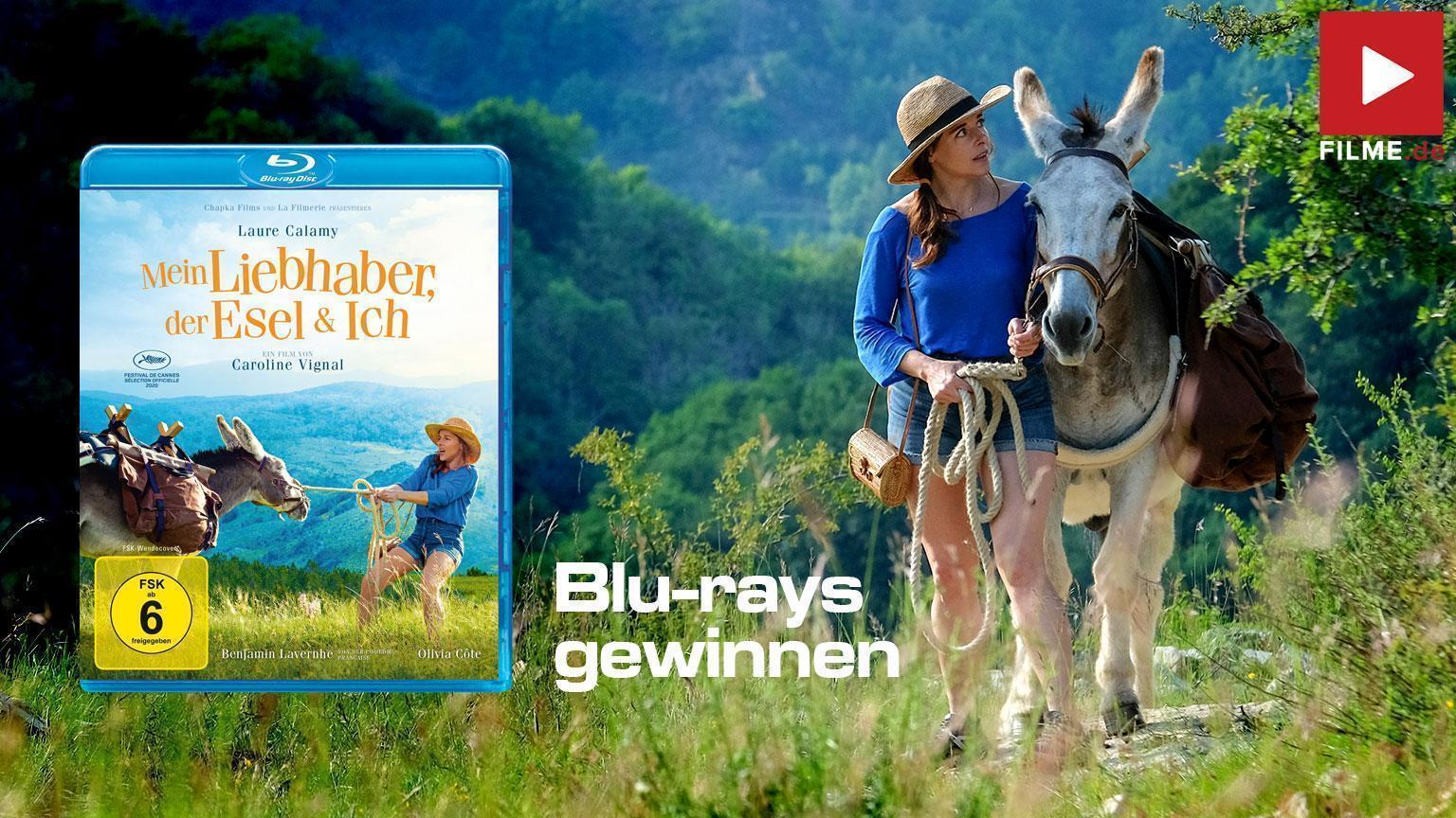 Mein Liebhaber, der Esel & ich Film 2021 Gewinnspiel gewinnen shop kaufen Blu-ray DVD Artikelbild