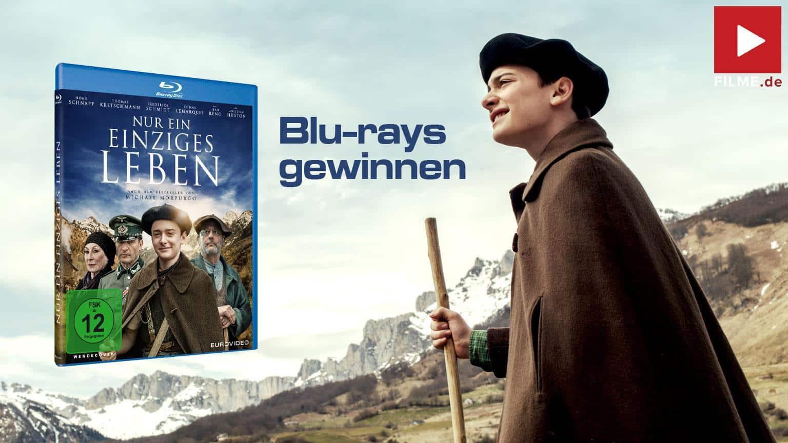 Nur ein einziges Leben gewinnspiel gewinnen shop kaufen Blu-ray DVD Artikelbild