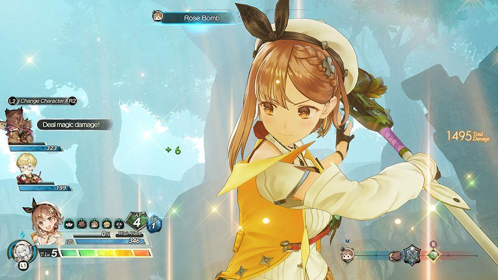 Atelier Ryza 2: Lost Legends & the Secret Fairy PS4 Review shop kaufen Szenenbild