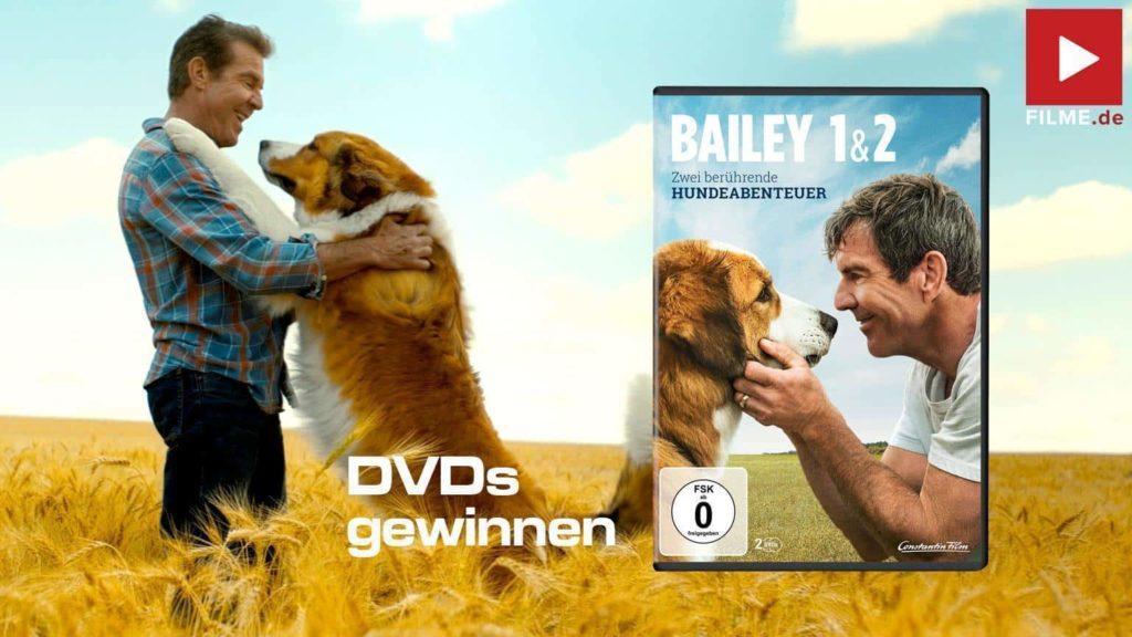 Bailey 1 & 2 Doppelpack Film 2021 DVD Gewinnspiel gewinnen shop kaufen Artikelbild