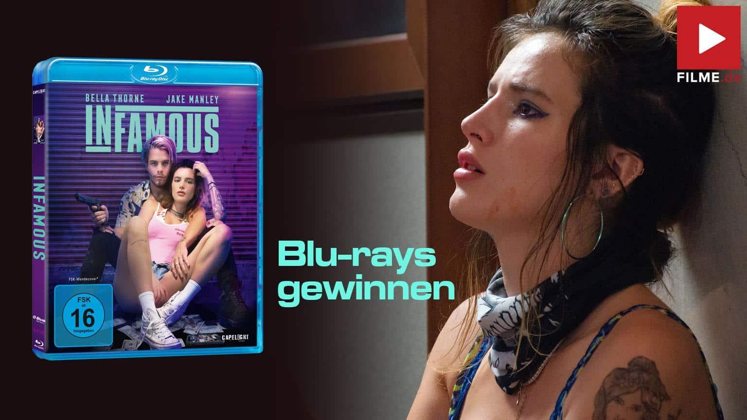 Infamous Film 2021 Blu-ray DVD shop kaufen gewinnspiel gewinnen Artikelbild