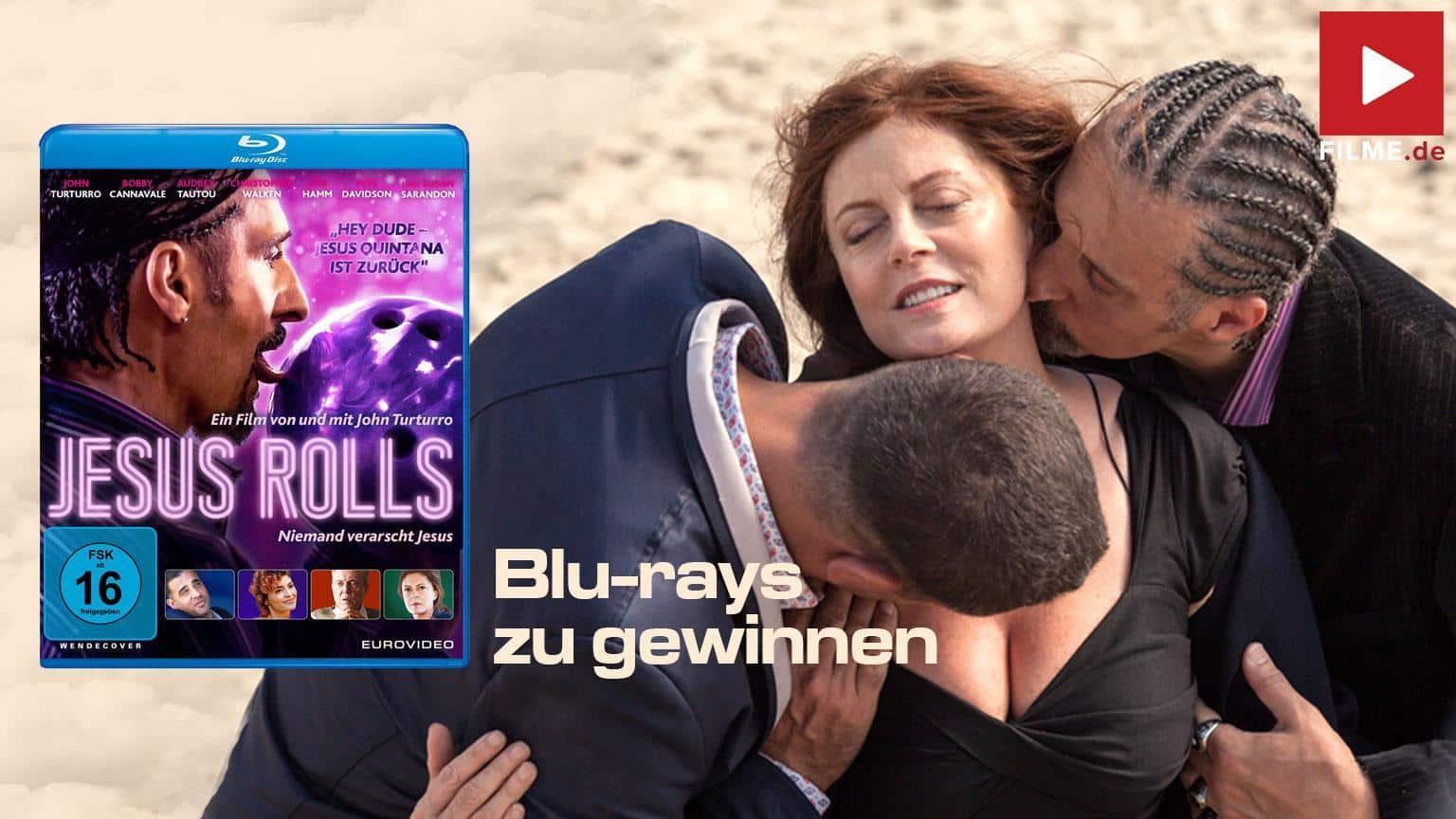 Jesus Rolls Gewinnspiel gewinnen Film 2021 Blu-ray DVD shop kaufen Artikelbild
