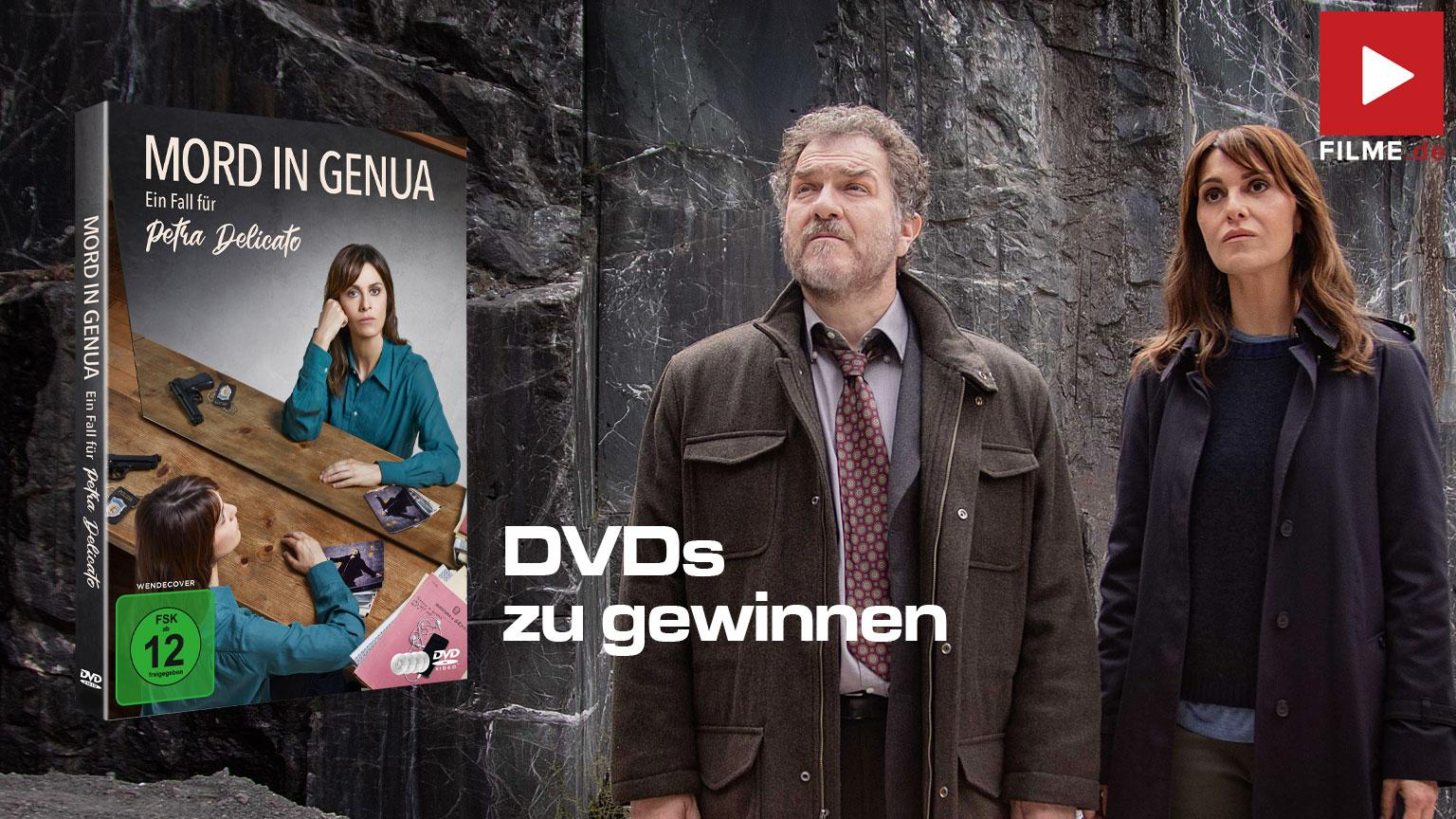 Mord in Genua – Ein Fall für Petra Delicato Serie 2021 DVD Blu-ray Gewinnspiel gewinnen Artikelbild