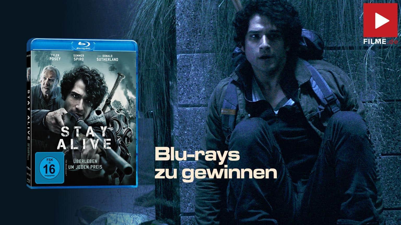 Stay Alive - Überleben um jeden Preis Film 2021 Blu-ray DVD Gewinnspiel gewinnen Shop kaufen Artikelbild