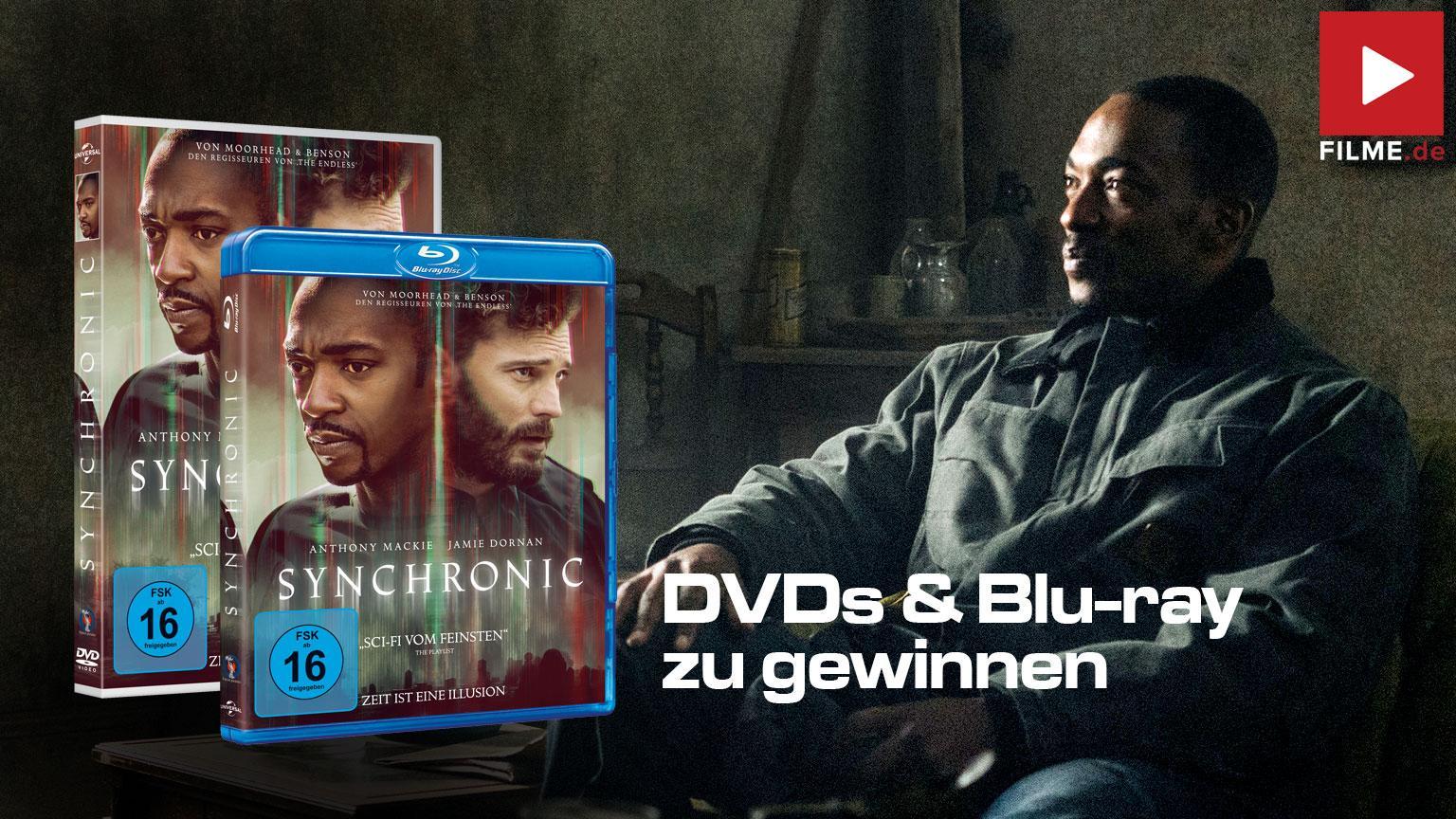 Synchronic Film 2021 Blu-ray DVD Gewinnspiel gewinnen shop kaufen Artikelbild