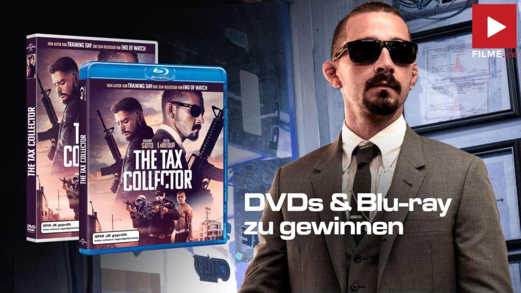 The Tax Collector Gewinnspiel gewinnen Film 2021 Blu-ray DVD shop kaufen Artikelbild