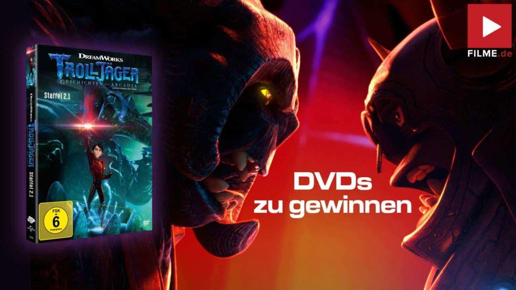 Trolljäger Staffel 2.1 Gewinnspiel gewinnen DVD Serie 2021 shop kaufen Artikelbild