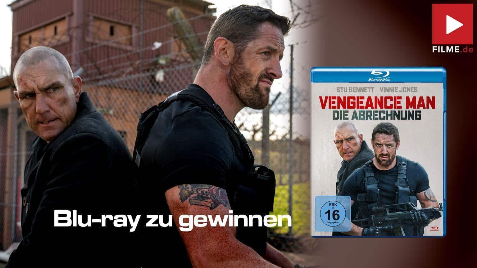 Vengeance Man - Die Abrechnung Gewinnspiel gewinnen shop kaufen Film 2021 Blu-ray DVD Artikelbild