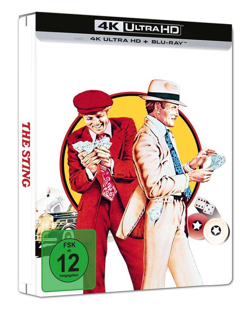 Der Clou Film 1973 4K UHD Steelbook Blu-ray shop kaufen Cover
