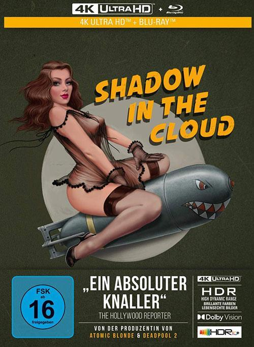 Shadow in the cloud Film 2021 2-Disc Limited Collector's Edition im Mediabook (4K Ultra HD/UHD + Blu-Ray) Cover shop kaufen