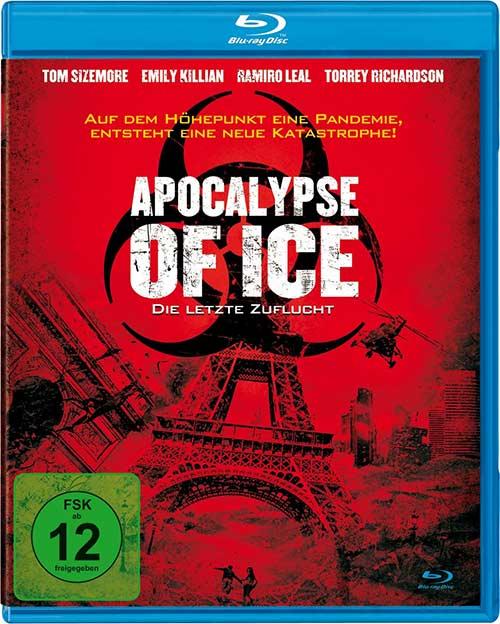 Apocalypse of Ice - Die letzte Zuflucht Film 2021 Blu-ray Cover shop kaufen