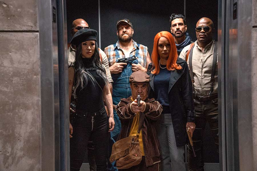 Boss Level Film 2021 Blu-ay Review Szenenbild Shop kaufen