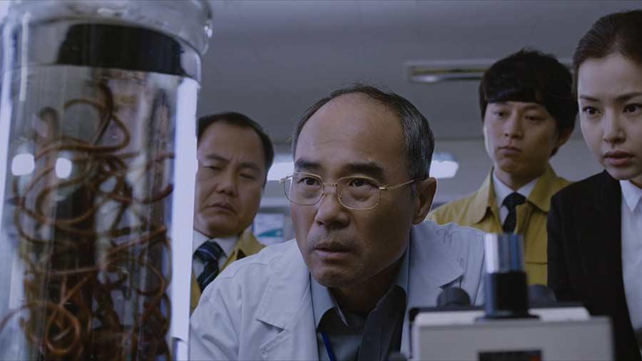 Contamination Tödliche Parasiten Film 2021 Blu-ray DVD Review shop kaufen Szenenbild
