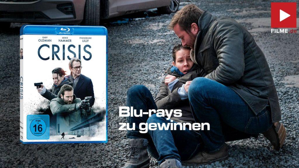 Crisis Film 2021 Blu-ray Gewinnspiel gewinnen shop kaufen Artikelbild
