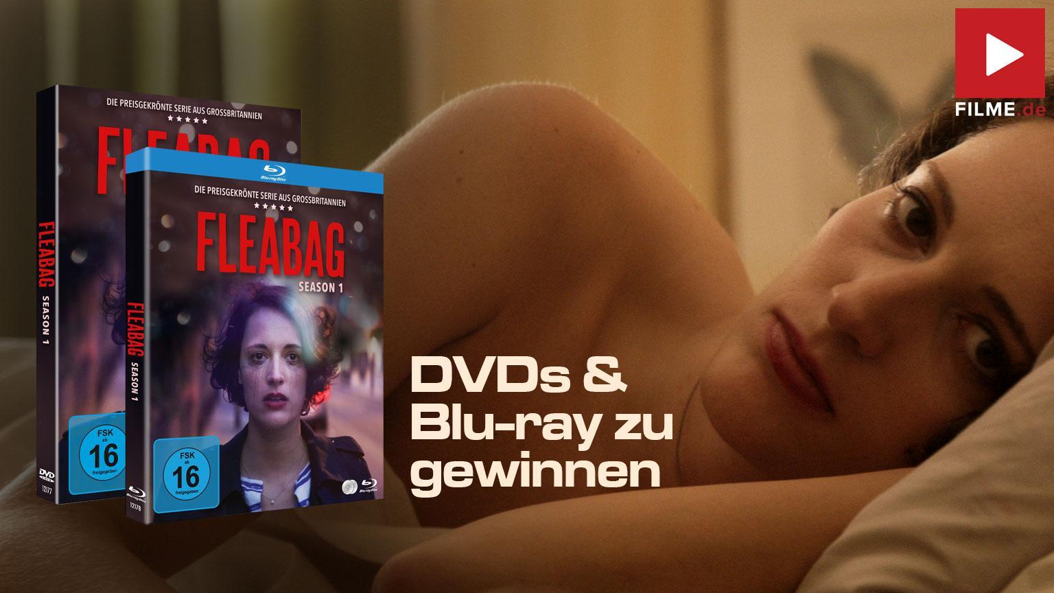 Fleabag - Staffel 1 Ssrie 2021 Blu-ray DVD Gewinnspiel gewinnen shop kaufen Artikelbild