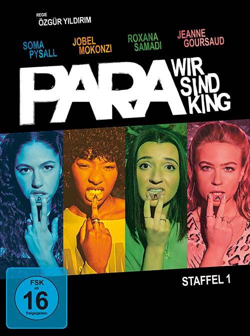 PARA – WIR SIND KING Staffel 1 Blu-ray DVD Cover shop kaufen Serie 2021