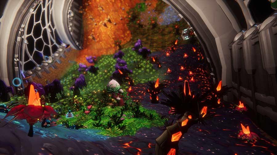 Spacebase Startopia PS4 Review Szenenbild shop kaufen
