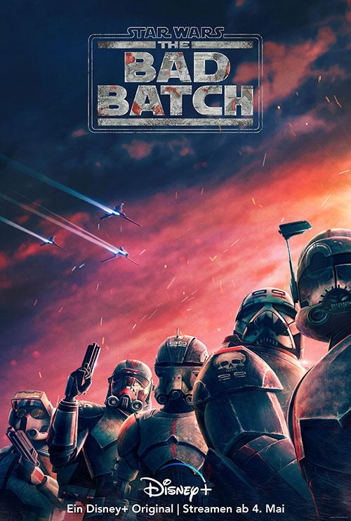 Star Wars The Bad Batch Serie 2021 Disney Plakat