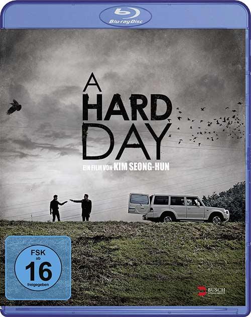 A Hard Day Film 2021 Blu-ray Cover shop kaufen