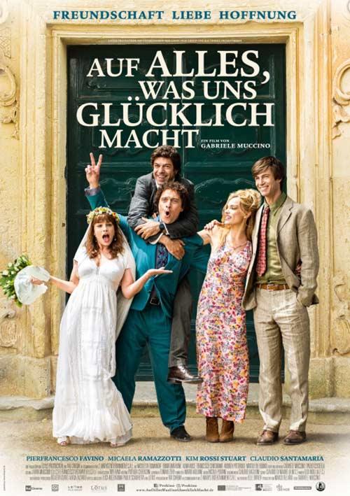 Auf alles was uns glücklich macht Film 2021 Kino Plakat Kinostart Deutschland