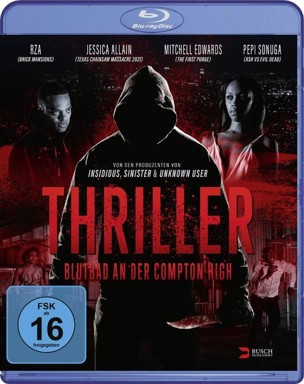 Blutbad an der Compton High Blu-ray Film Cover