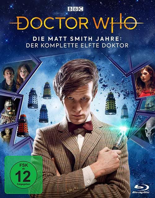 Doctor Who – Die Matt Smith Jahre: Der komplette 11. Doktor LTD. [Blu-ray] Cover shop kaufen