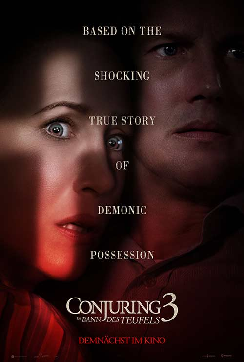 CONJURING 3: IM BANN DES TEUFELS Film 2021 Kinofilm Kinostart Kino Plakat