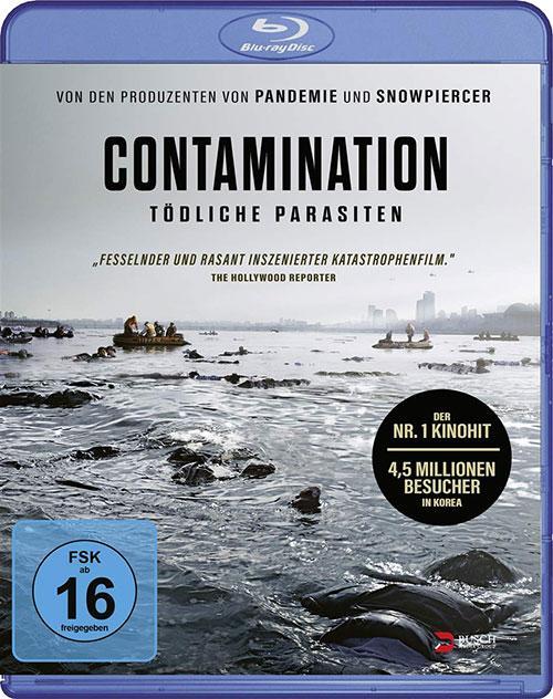 Contamination - Tödliche Parasiten [Blu-ray] Shop kaufen Cover