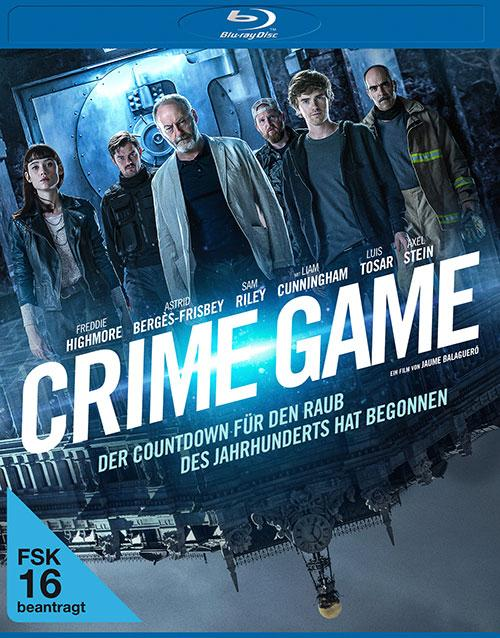 Crime game Film 2021 Blu-ray DVD shop kaufen Cover