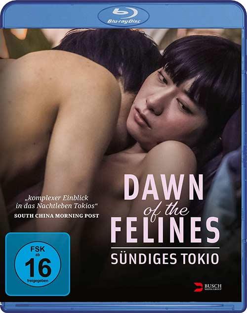 DAWN OF THE FELINES - Sündiges Tokio Film 2021 Blu-ray Cover shop kaufen