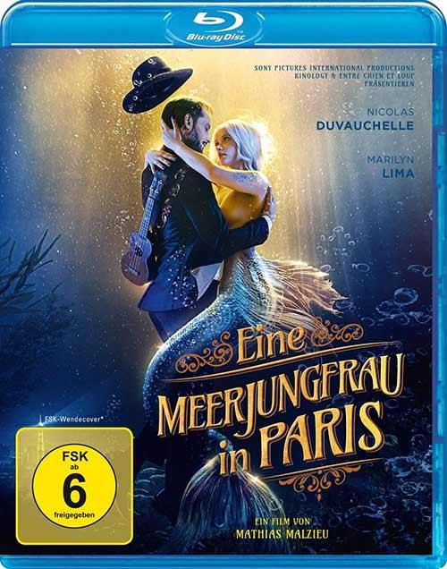 Eine Meerjungfrau in Paris [Blu-ray] Cover shop kaufen