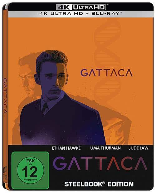 Gattaca Steelbook UHD + Blu-ray (exklusiv bei Amazon.de) shop kaufen Cover