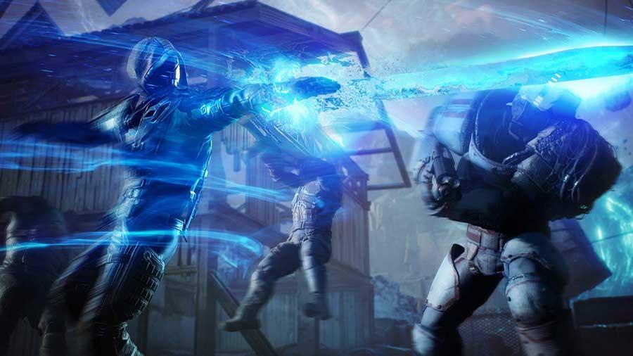 Outriders PS5 Review Spiel 2021 shop kaufen Szenenbild