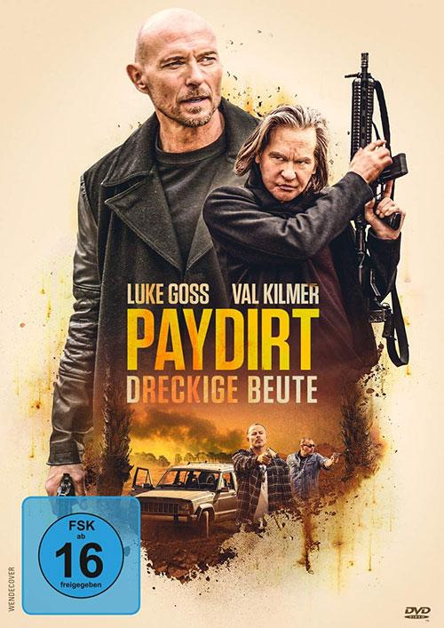 Paydirt - Dreckige Beute Film 2021 Blu-ray DVD shop kaufen Cover